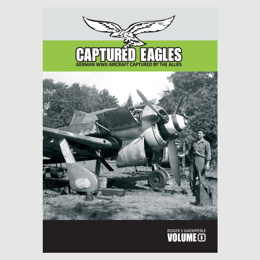 Cover Page Captured Eagles Book Vol. I